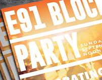 Postcard || Church Block Party Announcement