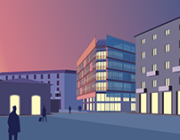 Urban grafting: anew hostel for Porta Genova