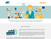 Website Design - Mini Hippo Imports