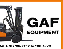 GAF Equipment Inc., Sales Flyers and Decal