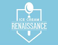 Ice Cream Renaissance Rebrand
