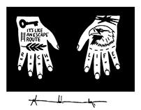 TATTOOED HAND DESIGN