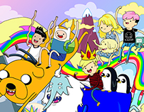 Adventure time with friends