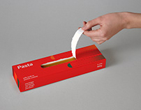 Pasta with built-in portion controller