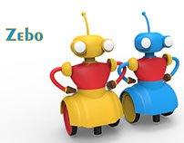 """Zebo"" A learning based BOT for Kids"