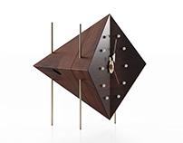 Free 3d model / Diamond Clock by Vitra