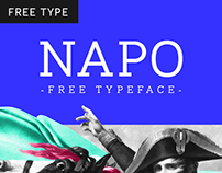 Napo Font Family - WITH 3 FREE WEIGHTS