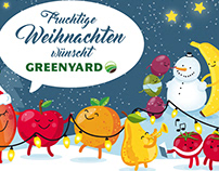 Weihnachtsmotiv 2018 // Kunde: Greenyard Fresh Germany