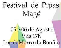 Cartaz ( festival de pipas )