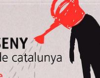 "Finalista diseño logotipo jornadas ""ART I DISSENY, esco"