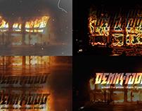 DENNY TODD logo visuals