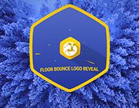 Floor Bounce Logo Reveal