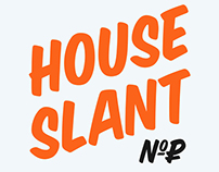 House Slant (cyrillic)