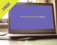 [FREE] ZenBook Mockup