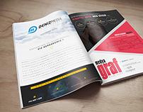 Deniz Media & Media Graf Magazine Ad Design