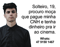Solteiro quer CNH - Autoescola Gilberto