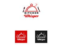"""logo for online store """"kitchen whisper"""""""