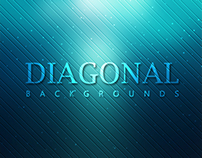 20 Diagonal Abstract Backgrounds - $3