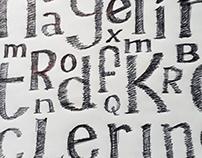 Tipografía a mano