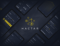 Hactar — Miner Analyzer App (UX/UI, UI Kit)
