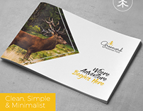 A5 National Park Brochure Template