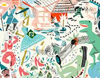 A Melancia Quadrada - Book cover