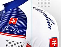 Slovakia Cycling Jersey