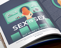 Illustration Exercise: Sex Is Sex. But Money Is Money.
