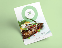 Delish Pakistan | Menu & Flyer Design