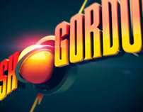 Flash Gordon 80's Movie Logo Recreation.