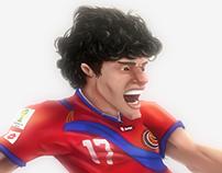 Yeltsin Tejeda, Costa Rica. Fifa Wold Cup Brasil 2014