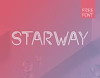 Starway - Free font