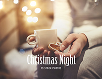 15 Stock Photos Christmas Night