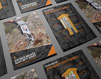 STM Rock Breaker - Heavy Duty Tri Fold A4 Brochure