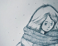 Cold winter's day.