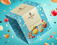 Bandinelli. Cookie gift collection. Packaging design