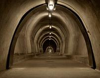 In Zagreb, The Grič Tunnel