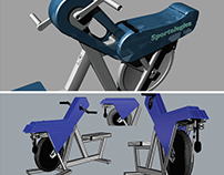 Exercise bike Sportologica