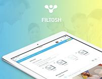 Filtosh - UI/UX Design