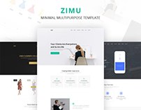 ZIMU Multipurpose Web Template