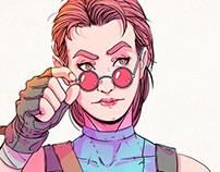 Lara Croft - Tomb Raider - Fan Art