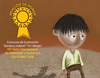 """""""101 miedo""""_Concurso Festival Calicomix"""