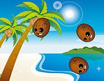 Coconut Crush Flash Game