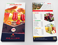 Juice Lovers DL Flyer Template
