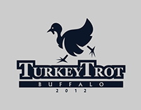Turkey Trot Logo Concept