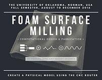 Foam Surface Milling