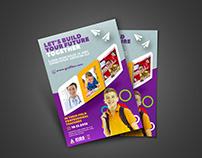 School Advertisement Flyer