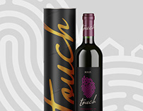 Touch Wines Branding