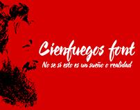 Cienfuegos -script font-