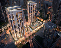 pictury for DAR GROUP / Dubai Towers